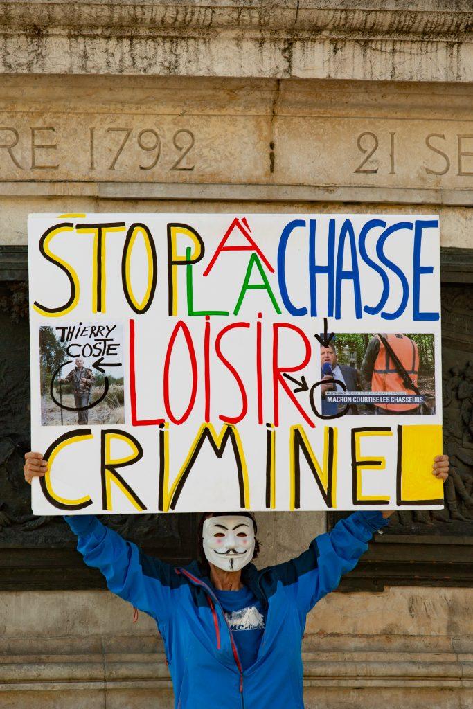 Manifestation anti Chasse