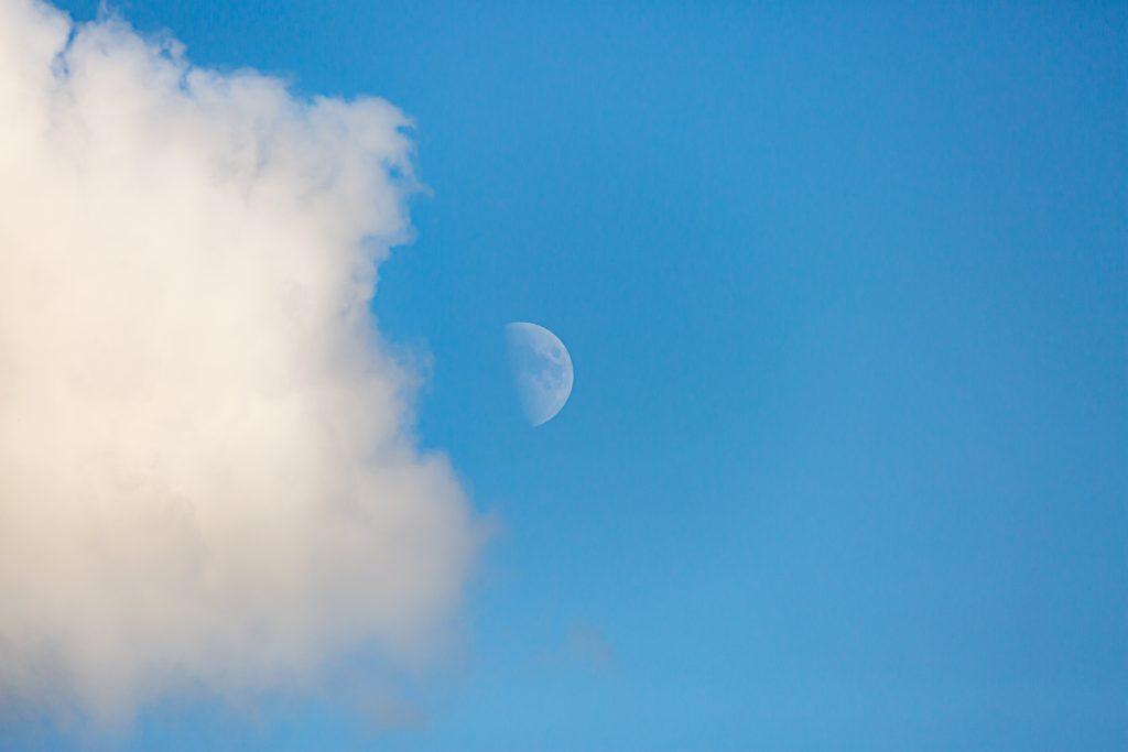 Nuage et Lune