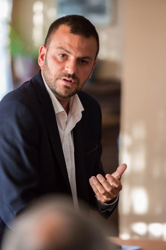 Romain Colas - campagne électorale